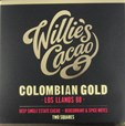 Willie's, Colombian Gold, Los Llanos, 88% dark chocolate bar