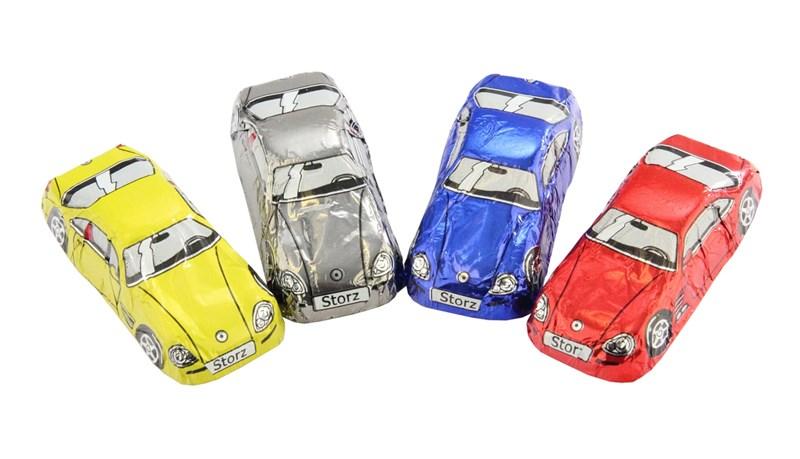 Chocolate Trading Co. Bag of 10 Milk Chocolate Sports Cars
