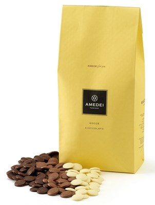 Amedei chocolate couverture drops (pistoles)