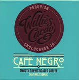 Willies, Cafe Negro dark chocolate & coffee bar