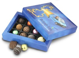 British Gas chocolate gift box