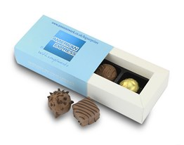 Personalised 2 chocolate box sleeve