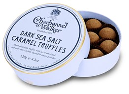 Dark Sea Salt Caramel truffles gift box