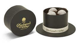 Top Hat, Milk Marc de Champagne chocolate truffles