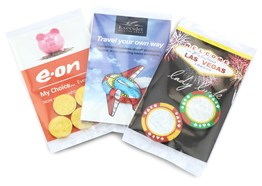 Promotional chocolate packs