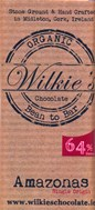 Wilkie's, Organic Amazonas 64% dark chocolate bar