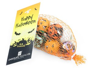 Net of chocolate Halloween balls