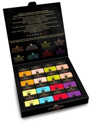 Valrhona Grand Cru Assorted chocolates gift box 160g (open)