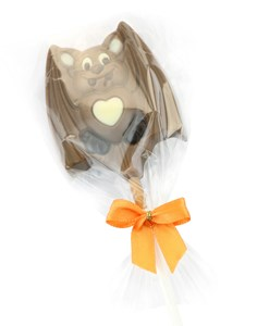 Halloween bat chocolate lolly  Non sale