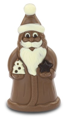 Christmas chocolate Santa