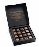 Valrhona Grand Cru dark chocolate gift box 170g