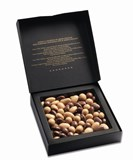 Valrhona Dulcey enrobed almonds and hazelnuts gift box