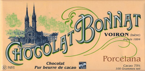 Bonnat Porcelana chocolate bar