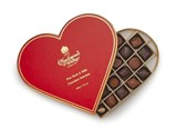 Valentines milk & dark chocolate box 400g