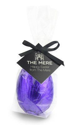 Personalised chocolate Easter egg gift bag