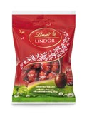 Lindt Lindor milk mini Easter eggs bag