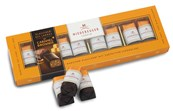 Niederegger, caramel chocolate brownie, marzipan loaves gift box