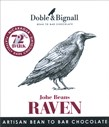 Doble & Bignal, Raven Johe Beans, 72% dark chocolate bar