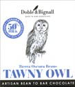 Doble & Bignall, Tawny Owl, Puerto Cabello Beans, milk chocolate bar