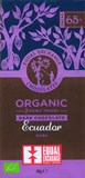Organic, Ecuador 65% dark chocolate bar