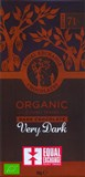 Organic, 71% very dark chocolate bar
