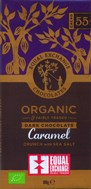 Organic caramel crunch & sea salt dark chocolate bar