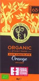 Organic, orange & 65% dark chocolate bar