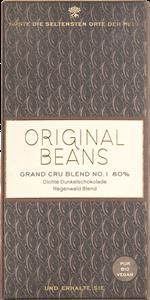 Click to view product details and reviews for Original Beans Grand Cru Blend No1 80 Dark Chocolate Bar.