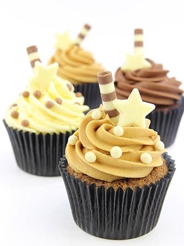 Chocolate Cupcake Decor Ideas : Callebaut salted caramel chocolate pearls (Crispearls ...