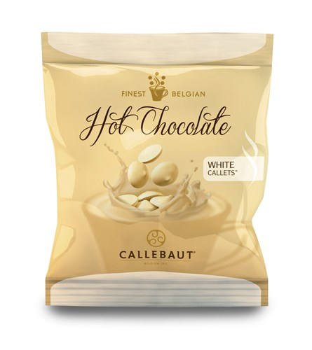 Callebaut Belgian hot chocolate (white) - Chocolate Trading Co