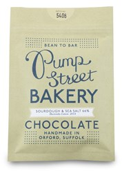 Pump Street Bakery, Sourdough & Sea Salt, 66% dark chocolate bar