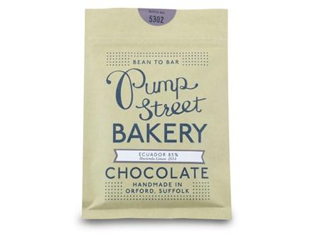 Pump Street Bakery Ecuador 60 Dark Milk Chocolate Bar