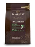 Callebaut Origin, Brazil dark chocolate couverture chips