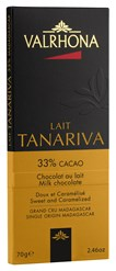 Valrhona, Tanariva lait, milk chocolate bar