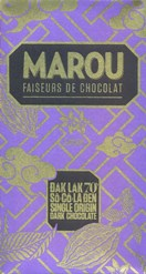 Marou, Dak Lak, 70% dark chocolate bar