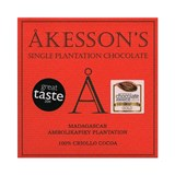 Akesson's, Madagascar Criollo, 100% dark chocolate bar