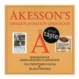 Akesson's, Madagascar, 75% dark chocolate & black pepper bar
