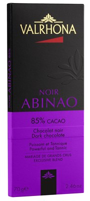 Valrhona, Abinao 85% dark chocolate bar