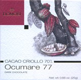 Domori, Criollo Occumare 77, 70% dark chocolate bar