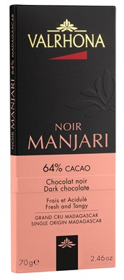 Valrhona, Manjari 64% dark chocolate bar