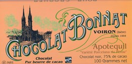 Bonnat, Apotequil 75% dark chocolate bar