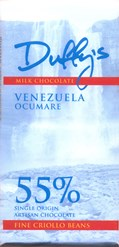 Duffy's, Venezuela Ocumare, 55% milk chocolate bar