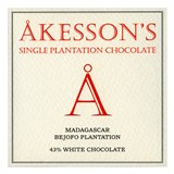Akesson's, Madagascar, Bejofo plantation, white chocolate bar