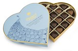 Sea salt caramel chocolate hearts gift box 290g