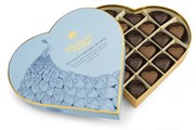 Milk & dark sea salt caramel chocolate hearts gift box 295g