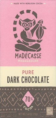 Madecasse, 70% dark chocolate bar