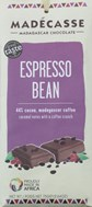 Madecasse, Espresso bean, 44% cocoa milk chocolate bar