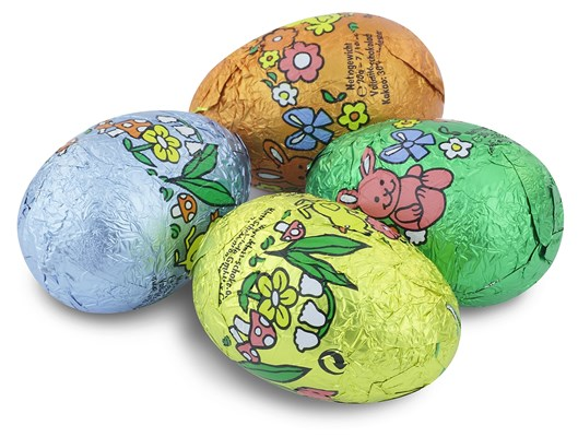 Mini chocolate Easter eggs (pastel large)