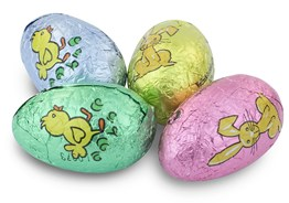 Mini chocolate Easter eggs (pastel small)