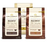 Callebaut milk, dark and white 3 x 1kg bundle